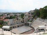 Plovdiv, antický amfiteátr