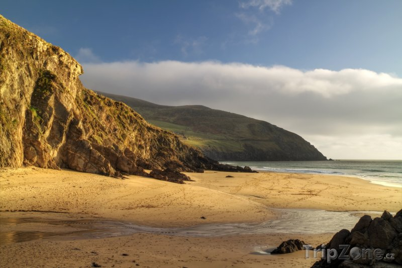 Fotka, Foto Pobřeží Atlantiku v hrabství Kerry (Irsko)