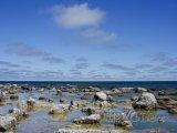 Pobřeží ostrova Gotland