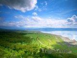 Pohled na jezero Nakuru