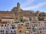 Pohled na město Ibiza