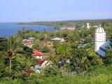 Pohled na pobřeží v regionu Tuamasaga