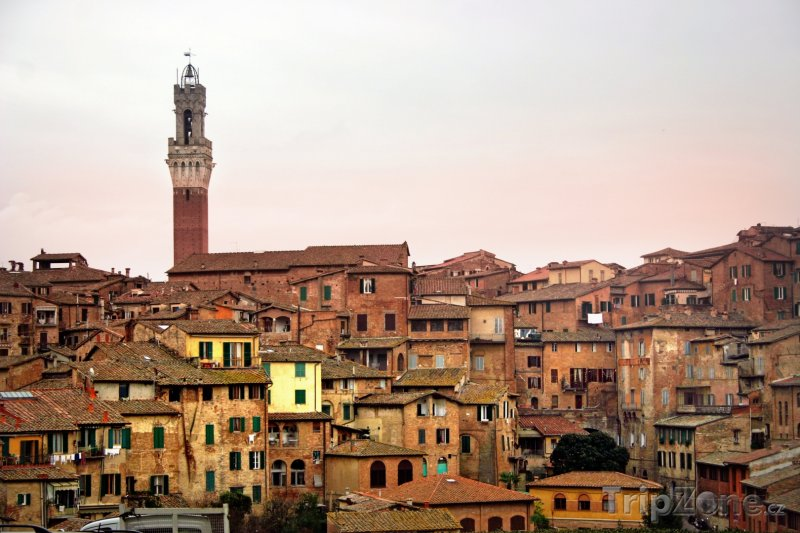 Fotka, Foto Pohled na Sienu (Itálie)