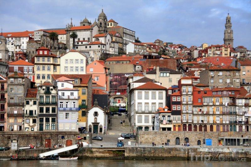 Fotka, Foto Porto, čtvrť Ribeira (Portugalsko)
