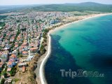 Primorsko, panoráma pobřeží