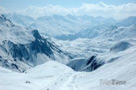 Rakouské Alpy, St. Anton