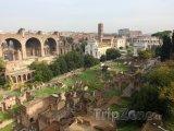 Ruiny antického fóra v Římě
