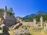 Ruiny antického města Mystras