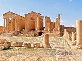 Ruiny chrámu ve městě Sbeitla