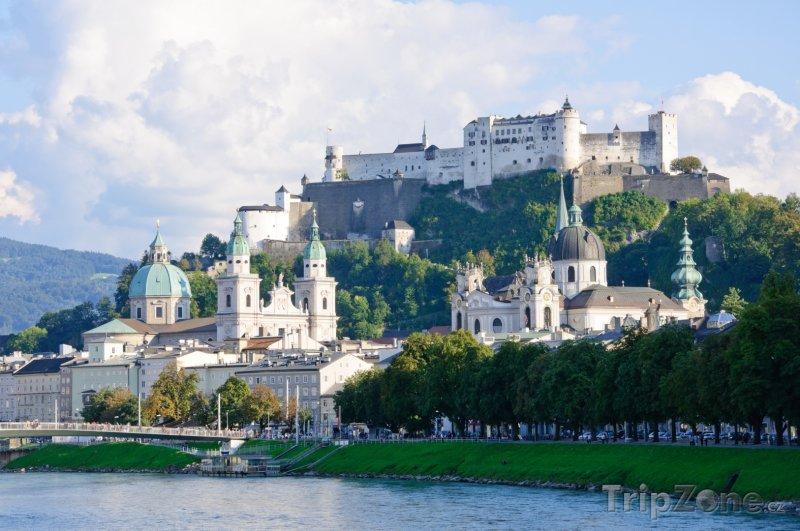 Fotka, Foto Salcburk, pohled na město (Rakousko)