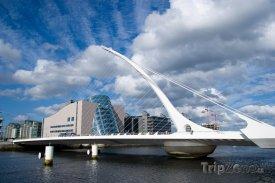 Samuel Beckett Bridge v Dublinu