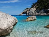 Sardinie - pláž Cala Goloritzé