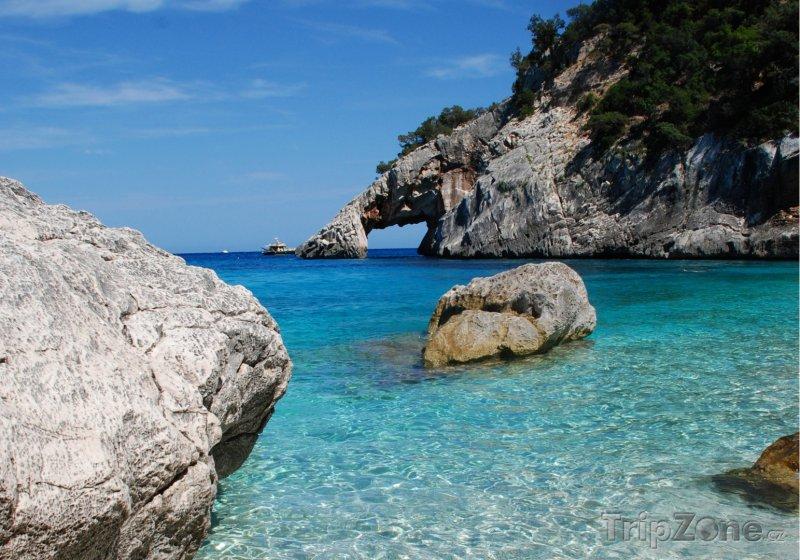 Fotka, Foto Sardinie - pohádková Cala Goloritzé (Sardinie, Itálie)