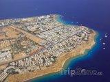 Sharm El Sheikh, pohled na rezort z ptačí perspektivy