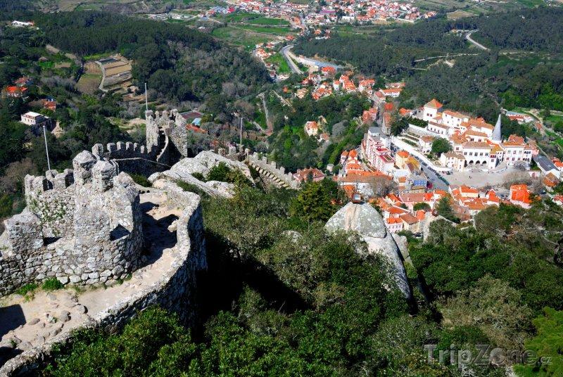 Fotka, Foto Sintra, maurský hrad (Portugalsko)