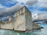 Sirmione - hrad Scaligero