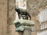 Socha Romula a Rema s vlčicí