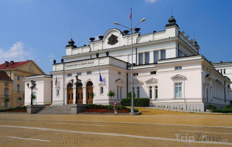 Fotka, Foto Sofie, budova Národního shromáždění (Bulharsko)
