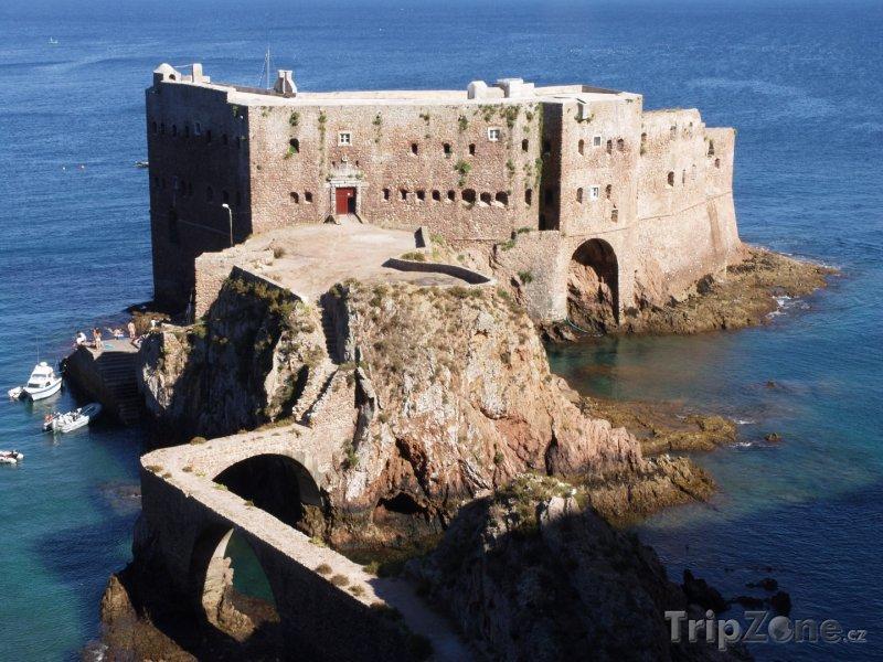 Fotka, Foto Souostroví Berlengas, pevnost sv. Jana Křtitele (Portugalsko)