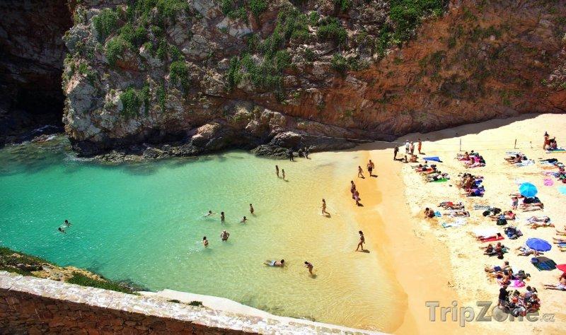 Fotka, Foto Souostroví Berlengas, pláž (Portugalsko)