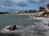 Sozopol, moře u pobřeží