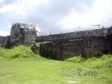Stará pevnost ve Stone Townu - hlavním městě Zanzibaru