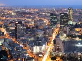 Tel Aviv v noci