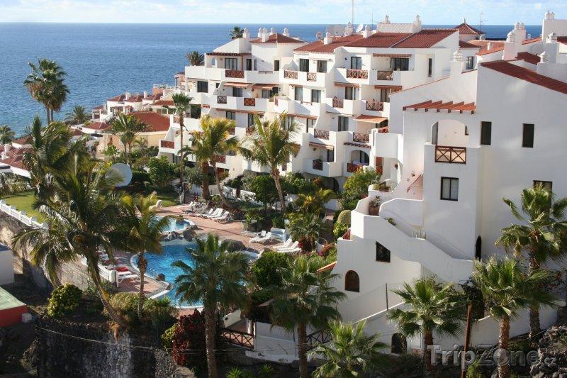 Fotka, Foto Tenerife, hotely u pláže (Kanárské ostrovy, Španělsko)