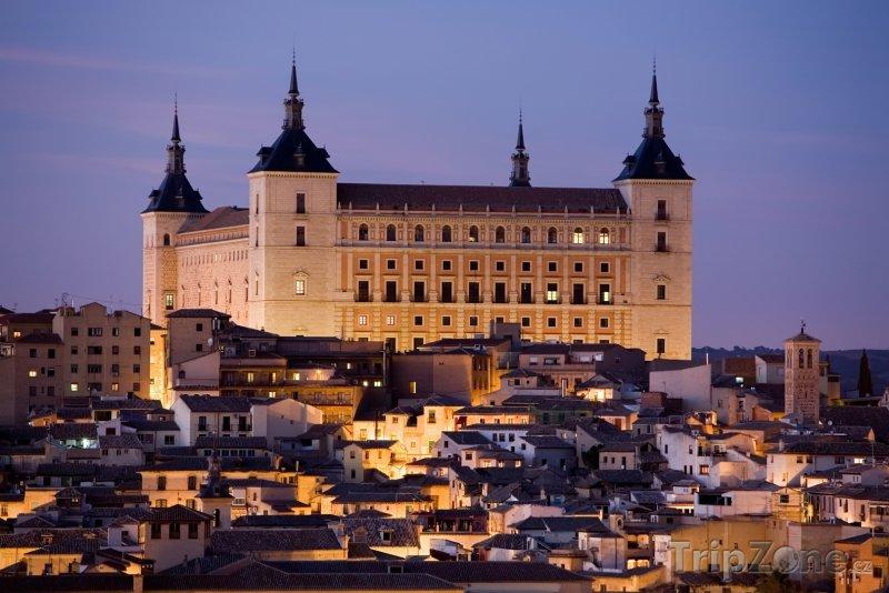 Fotka, Foto Toledo, pevnost Alcázar (Španělsko)