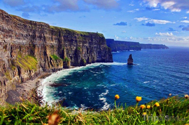 Fotka, Foto Úchvatné irské pobřeží (Irsko)