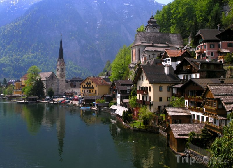 Fotka, Foto Vesnice Hallstatt (Rakousko)