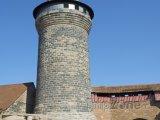 Věž Kaiserburgu v Norimberku