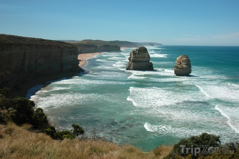 Fotka, Foto Victoria - skalní útvar The Twelve Apostles (Austrálie)