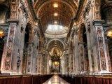 Vnitřek baziliky svatého Petra
