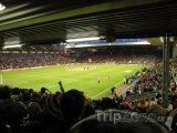 Vnitřek liverpoolského stadiónu Anfield