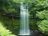 Vodopády Glencar v hrabství Leitrim