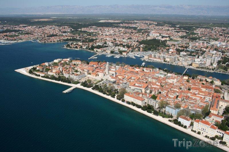 Fotka, Foto Zadar, pohled na přístav (Chorvatsko)