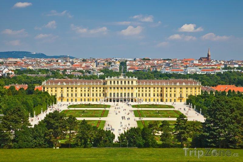 Fotka, Foto Zámek Schönbrunn ve Vídni (Vídeň, Rakousko)