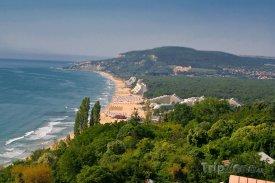 Zlaté Písky, pobřeží