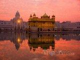 Zlatý Chrám ve městě Amritsar (stát Paňdžáb)