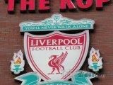 Znak Liverpool F.C. na stadiónu Anfield