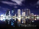Bangkok v noci