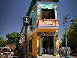 Barevný dům v části La Boca