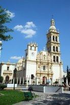 Barokní katedrála v Monterrey