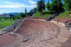 Basilej - antické fórum Augusta Raurica