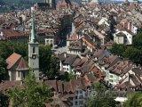 Bern - pohled na město