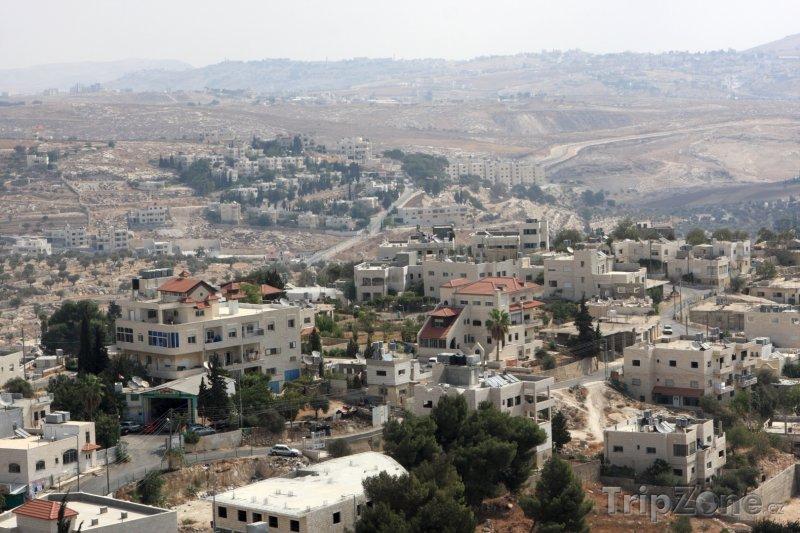 Fotka, Foto Betlém, pohled na město (Izrael)