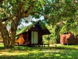 Chatky v Národním parku Sodwona