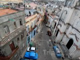 Domy ve staré části města La Habana vieja