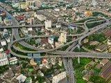 Dopravní uzel v Bangkoku